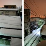 東京雪日和。