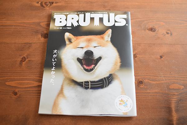 BRUTUS 犬特集